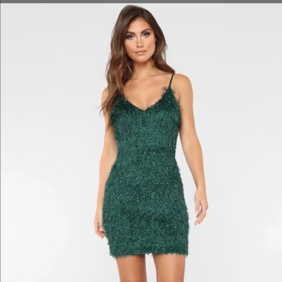 6d834b3118ac Fashion Nova Dresses | Fuzzy Mini Dress Nwt | Poshmark